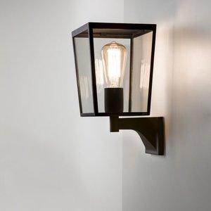 Astro Vintage Wall Lamp Outdoor Farringdon AS 1366001 Black textured