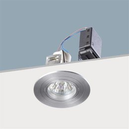 Absinthe Spot encastré brillant R Aluminium brossé 11091-05