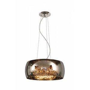 Lucide PEARL - Hanging lamp - Ø 50 cm - 6xG9 - Chrome - 70463/06/11