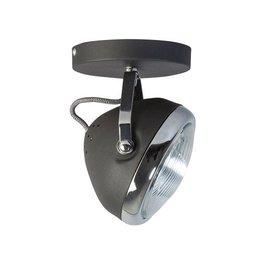 ETH projecteur plafond rétro tête chrome / noir mat 05-sp1250-1130