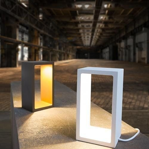LioLights tafellamp Corridor zwart / goud