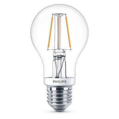 Philips E27 Retro Filament LED Classic A60 warm wit 4.5W DIM