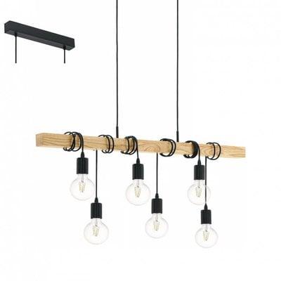 EGLO Vintage hanging lamp Townshend 95499