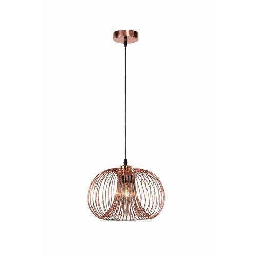 Lucide Vintage hanging lamp Vinti 02400/30/17 copper