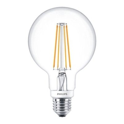 Philips LED Globe Vintage Style G93 E27 810Lm 7W Warm White DIM 57575800