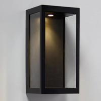 LED Wall Lamp Vitrum L Black 24001-02 - Copy