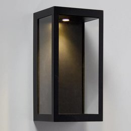 Absinthe LED Wall Lamp Vitrum L Black 24001-02 - Copy
