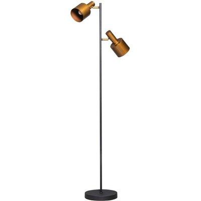 ETH Vintage LED Staanlamp Sledge zwart/goud 05-VL8377-0530