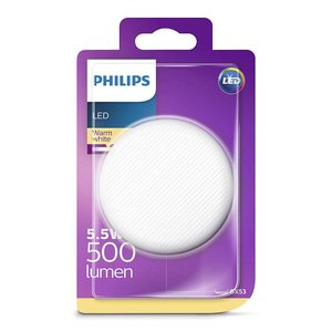 Philips LED GX53 warm white 5-40W