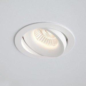 Absinthe Encastré encliquetable Solo ADJ lisse blanc 12075-01