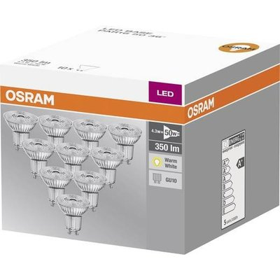 OSRAM LED spot 5.3-50W WARM WHITE GU10 Halogen double pack look