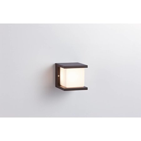 LioLights LED wandlamp Iserlohn IP54 10W