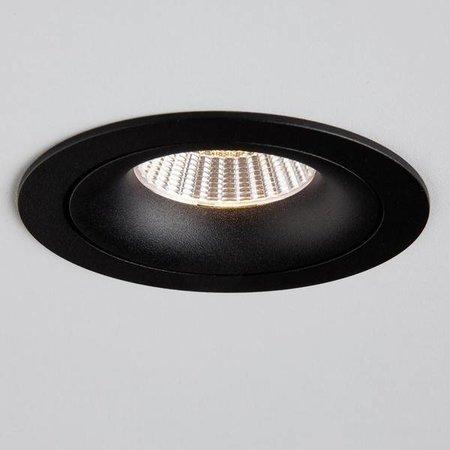 Absinthe Inbouwspot Clickfit Solo Smooth ADJ zwart 12075-02