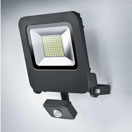 OSRAM Endura LED spotlight 50-400W black + sensor 4058075064362