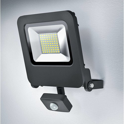 OSRAM Endura LED spotlight 50-400W black + sensor 4058075064362
