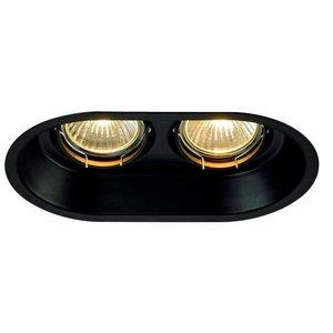 Horn double recessed spot GU10 orientable