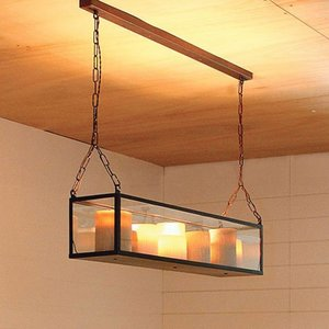 Authentage verlichting Suspension LED exclusive Bellefeu Vitrine Suspension Long