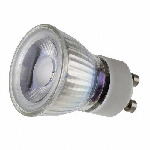 GU10 LED spot 35mm - 3Watt