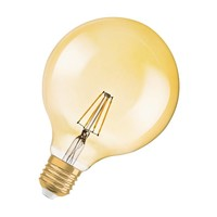 Vintage Style 1906 G120 E27 LED filament lamp DIM