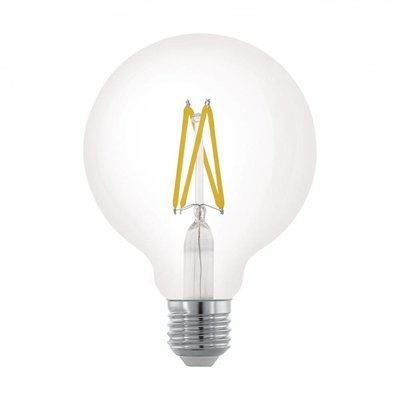 EGLO E27 Retro Filament LED lamp G95 6W 11703 DIM