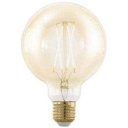 EGLO LED rétro Filament ampoule E27 G95 4W 11693 DIM