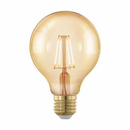 EGLO E27 Retro Filament LED lamp G80 4W 11692 DIM