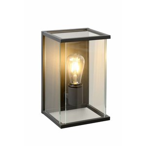 Lucide CLAIRE - Wall lamp Outdoor - 1xE27 - IP54 - Anthracite - 27883/01/30