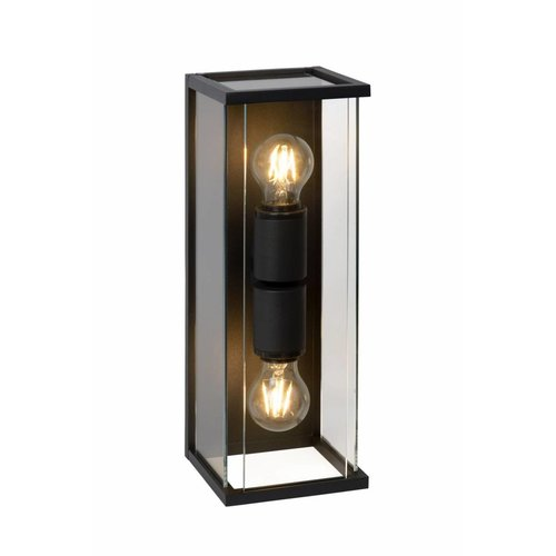 Lucide CLAIRE - Wall lamp Outdoor - 2xE27 - IP54 - Anthracite - 27883/02/30