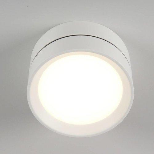 Absinthe LED Outdoor plafondspot Luna L Wit IP54