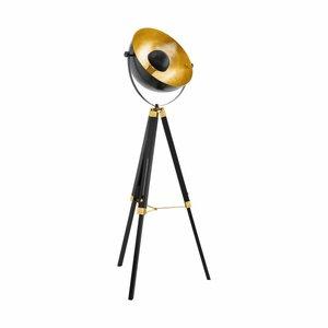 EGLO Vintage LED Floor Lamp Covaleda 49618