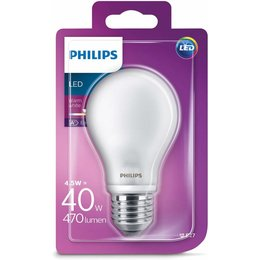 Philips LED lamp MAT E27 4.5-40W A60 warm wit