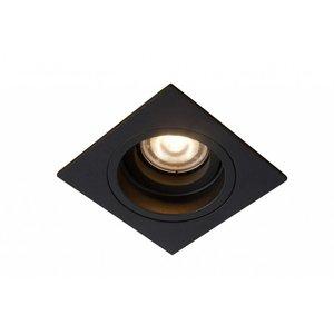 Lucide EMBED - Recessed spot - 1xGU10 - Black - 22959/01/30