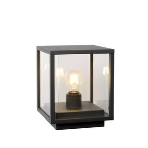 Lucide CLAIRE - Pedestal lamp Outdoor - 1xE27 - IP54 - Anthracite - 27883/25/30