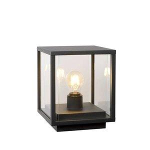 Lucide CLAIRE - Sokkellamp Buiten - 1xE27 - IP54 - Antraciet - 27883/25/30