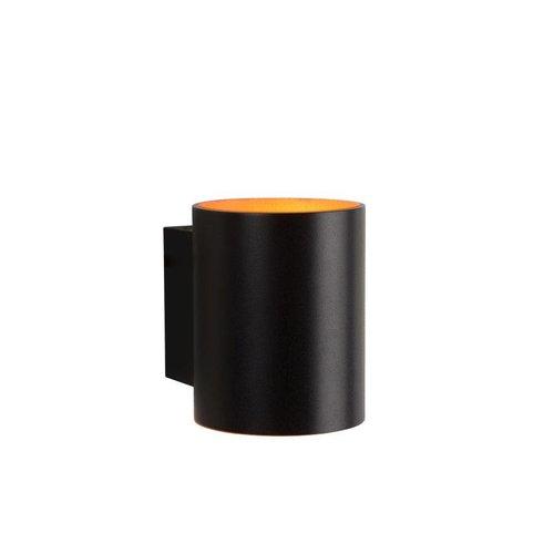 Lucide XERA - Wandlamp - Ø 8 cm - 1xG9 - Zwart - 23252/01/30