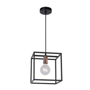 Lucide ARTHUR - Pendant lamp - 1xE27 - Black - 08424/01/30