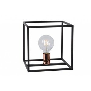 Lucide ARTHUR - Tafellamp - 1xE27 - Zwart - 08524/01/30