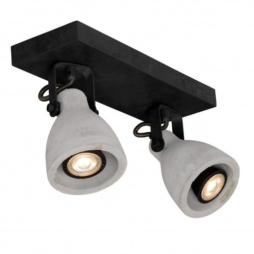 Lucide Surface-mounted spotlight CONCRI LED 05910/10/30