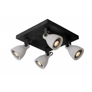 Lucide Surface-mounted spotlight CONCRI LED 05910/19/30