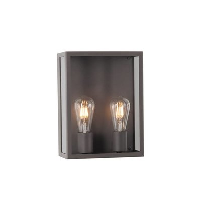 PSM Lighting Polo surface mounted wall luminaire Black W737