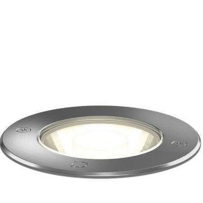 Wever & Ducré Spot au sol LED Carte 1.2 INOX