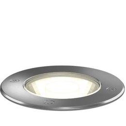 Wever & Ducré Spot au sol LED Carte 1.6 INOX