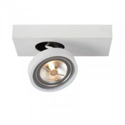 Lucide Spot à LED Nenad Ar111 Blanc 1-lumière 09920/10/31