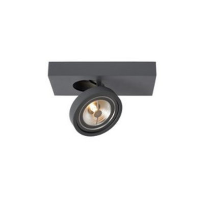 Lucide LED spotlight Nenad Ar111 Dark gray 1-light 09920/10/36