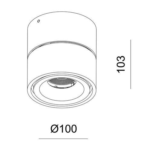 Absinthe LED Design ceiling spot Nimis