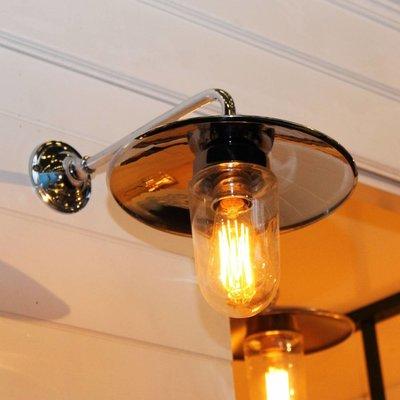 Authentage verlichting Landelijke Wandlamp Elebase 90 Outdoor