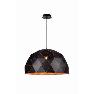 Lucide OTONA - Hanging lamp - Ø 60 cm - 3xE27 - Black - 21409/60/30