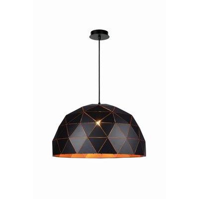 Lucide OTONA - Hanging lamp - Ø 60 cm - E27 - Black - 21409/60/30