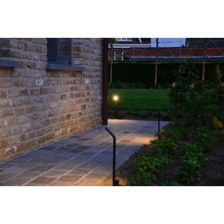 Absinthe Lighting LED garden post 40cm Lattice