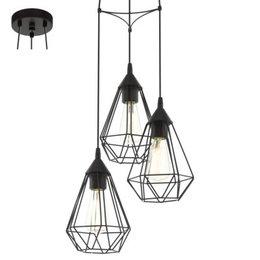 EGLO Vintage hanging lamp TARBES 94191